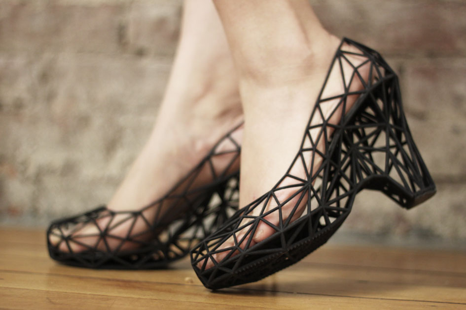 Online Designer for Wearable 3D Printed Shoes